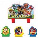 PAW Patrol Birthday Candles 4pcs