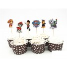Paw Patrol Cupcake Pics 12pcs