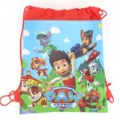 Paw Patrol Red Drawstring Bag