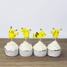 Pikachu Cupcake Pics 12pcs