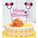 Minnie Pink Cake Banner