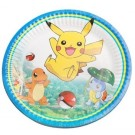 Pokemon 7in Paper Plates