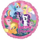 "18"" My Little Pony Happy Birthday Foil Balloon"