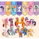 Little Pony 12 pcs Figure Topper