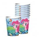 My Little Pony Cups 8pcs