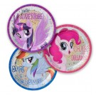 Prismatic Friendship Adventures My Little Pony Dessert Plates 8pcs