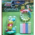 Pooh Party candle