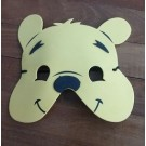 Pooh Foam Face Masks 6pcs set