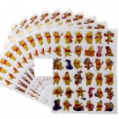 Winnie the Pooh Stickers 10 sheets per pack