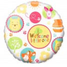 "18"" Pooh Welcome Little One Foil Balloon"