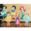 Disney Princess 6pcs Figurine Topper