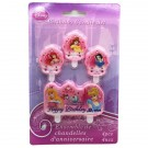 Disney Princess Birthday Candles 4pcs