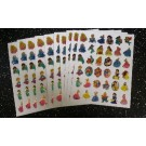 Princess Stickers 10 sheets per pack