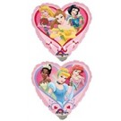 "9"" Princess Heart Foil Balloon"