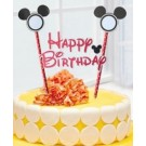 Mickey Red Cake Banner