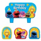 Sesame Street Birthday Candles 4pcs