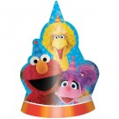 Sesame Street Party Hats 8pcs