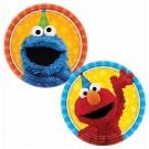 "Sesame Street Party Dessert 7"" Plates"