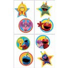 Sesame Street Tattoos 1 Sheet 8pcs