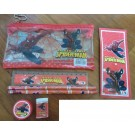 Spiderman 7pcs stationary set