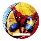 Spider-Man Dessert Plates 8pcs