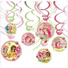 Strawberry Shortcake Swirl Decorations 12pcs