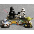 Star War Series Cake Topper Set. ( 4 Pieces )