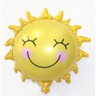 "28"" Smiley Sun Foil Balloon"