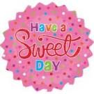"18"" Sweet Day Mylar Balloon"