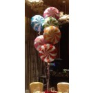 6pcs Lolipop Swirl Balloon Bouquet