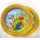 Pooh Paper Plates