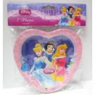 "Disney Princess 7"" Plates"