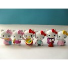 Hello Kitty 6 pcs Figure Topper A