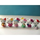 Hello Kitty 6 pcs Figure Topper B