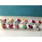 Hello Kitty 6 pcs Figure Topper B
