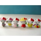 Hello Kitty 6 pcs Figure Topper C