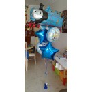 Thomas Train baby Shower Balloon Bouquet