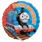 """18"""" Thomas the Tank Happy Birthday Foil Balloon"""