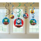 Thomas the Tank Engine Swirl Decorations 12pcs