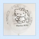 "12"" Hello Kitty transparent Latex Balloons"