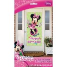 Minnie Mouse Birthday Party Door Banner