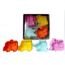 Vehicle 3D Cookies Mould
