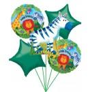 Zebra Balloon Bouquet