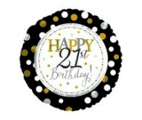 "18"" Happy 21st Birthday Foil Balloon"