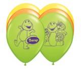 "12"" Barney Latex Balloons"