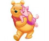 32in Winnie the Pooh Hug Balloon