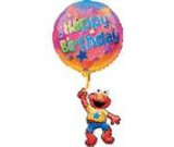 Elmo Floating Birthday SuperShape Balloon