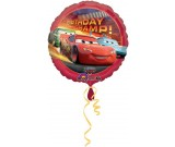 "18"" Disney Cars Happy Birthday Balloon"