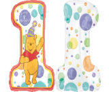 28in Winnie the POOH 1st Birthday