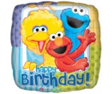 "18"" Sesame Street Birthday Balloon"